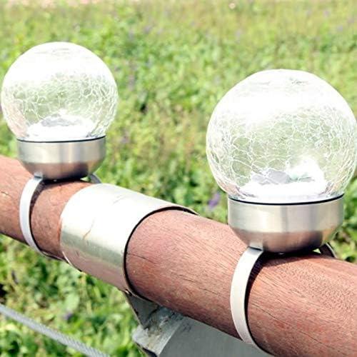 luz solar jardin luz,Luces solares al aire libre, césped casero para insertar barandilla Balcón Lámpara de estigma Terraza de flores Decoración de la granja Usted, luces solares Jardín: Amazon.es: Iluminación