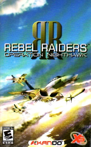 Rebel Raiders - Operation Nighthawk PS2 Instruction Booklet (PlayStation 2 Manual Only - NO GAME) [Pamphlet only - NO GAME INCLUDED] Play Station (Rebel Raiders Operation)