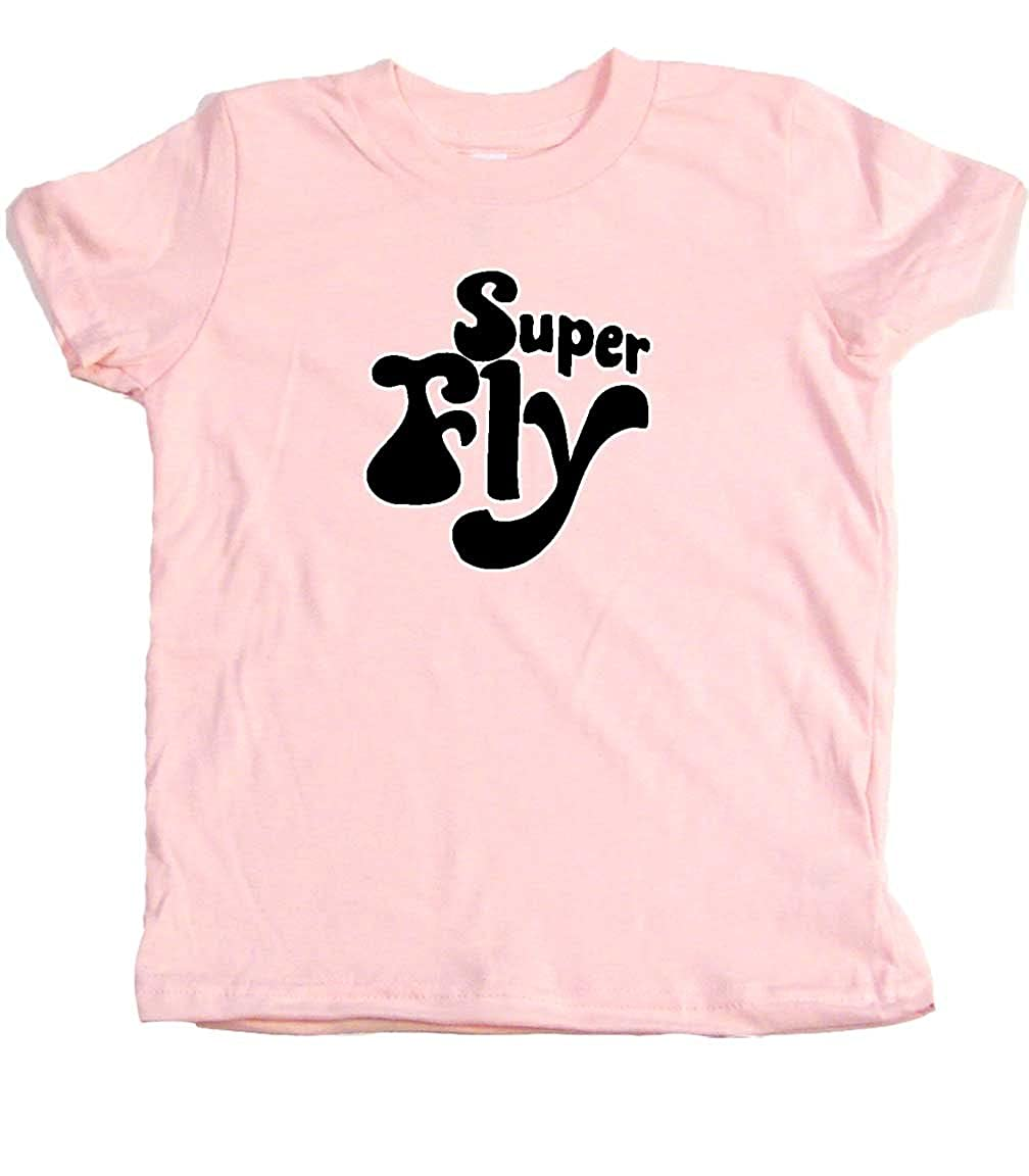 Superfly Retro Toddler Clothes Seventies Era Boy Or Girl T-Shirts