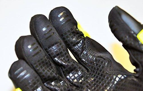 HAWK PRO PRO-0511XL Anti Slip Mechanics Glove, X-Large, Green by Hawk (Image #2)