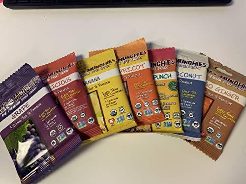 Matt's Munchies Premium Fruit Snack 7 Flavor Variety Pack (pack of 14)