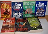 Splinter Cell/Splinter Cell Fallout/Sea of Fire/Games of State/Op-Center/Op-Center Divide and Conquer/Patriot Games (7 Books)