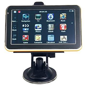 Mzamzi - Gran valor gps portable 5 \ coche navegador gps con av- in / tv analógica 4g ee.uu.: Amazon.es: Coche y moto