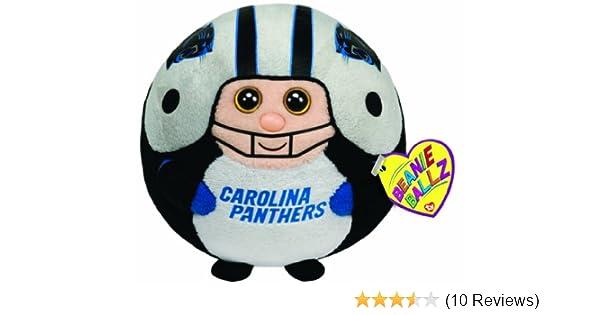 0af8073c6e3 Amazon.com  TY Beanie Ballz Carolina Panthers - NFL Ballz  Toys   Games