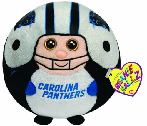Ty Beanie Ballz Carolina Panthers - NFL (Nfl Carolina Panthers Heart)