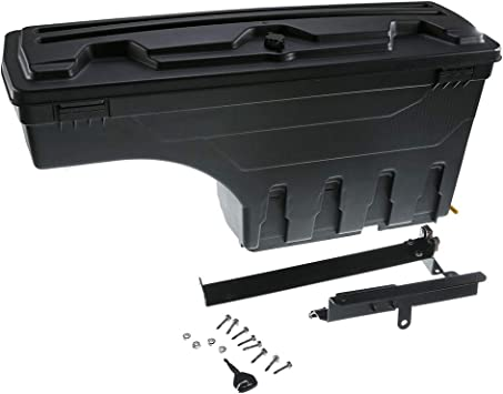 Fits 2020 Chevrolet Silverado//GMC Sierra HD Passengers Side 2500-3500 SC105P Undercover SwingCase Truck Bed Storage Box