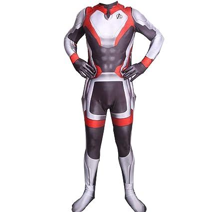 QQWE The Avengers 4 Disfraz de Disfraces, Traje de Batalla ...