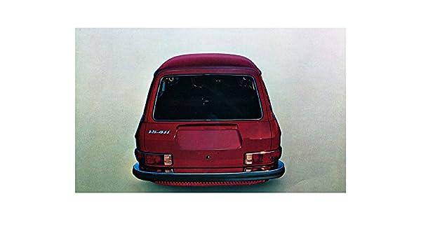 Amazon.com: 1971 Volkswagen 411 Wagon Factory Photo: Entertainment Collectibles