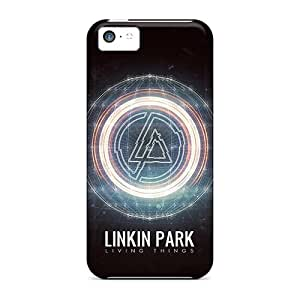 New Tpu Hard Cases Premium Iphone 5c Skin Cases Covers(linkin Park Living Things) Black Friday