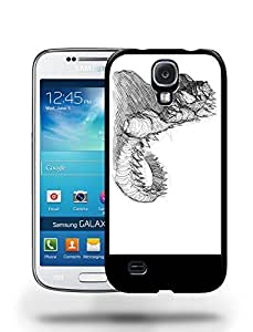 Godzilla Sketch Art Drawing Phone Case Cover Designs for Samsung Galaxy S4