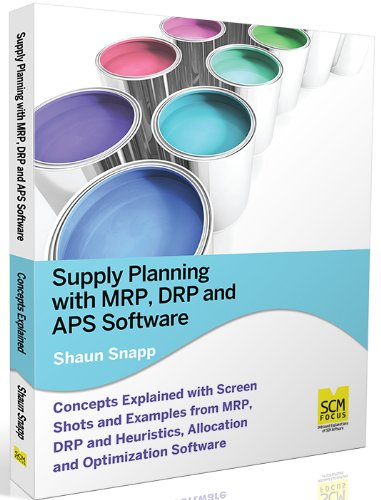 Supply Planning with MRP, DRP and APS Software Pdf