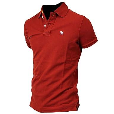 besondere Auswahl an Entdecken bestbewerteter Beamter Abercrombie Herren Muscle Fit Icon Polo Poloshirt Polohemd ...