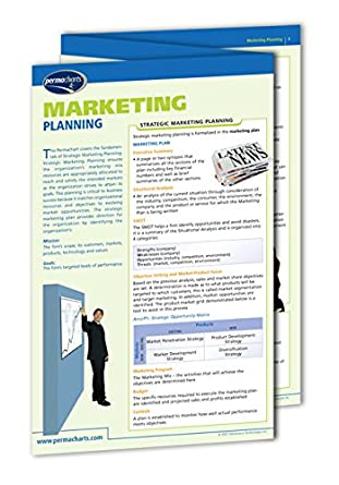 Introductory Marketing Guide Business Quick Reference Guide by Permacharts