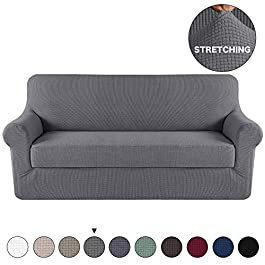 Turquoize Stretch Sofa Covers Couch Slipcover Chair Sofa Loveseat Cover 10 Colors/4 for 1 2 3 4 People Sofa Cover