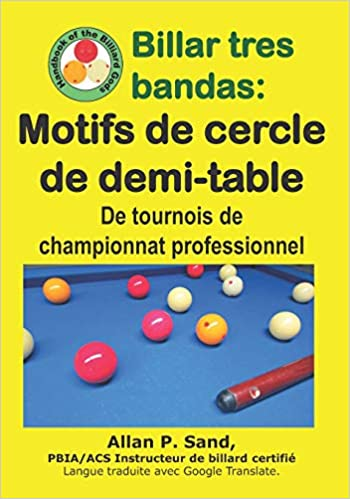 Billar tres bandas - Motifs de cercle de demi-table: De tournois ...