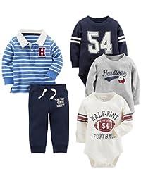 [Patrocinado] De Carter Baby Boys 'Playwear (5 piezas)