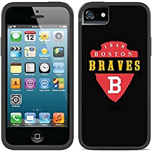fahion caseiphone 6 4.7 Black Switchback Case with Boston Braves 1946-52 Shield Design