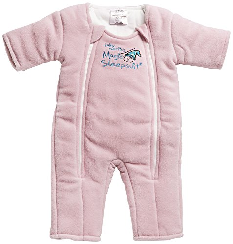 Baby Merlin's Magic Sleepsuit 3-6 months - Pink Small Baby Merlin Company MSS-PSP