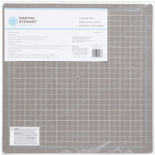 Martha Stewart Crafts 12-by-12-Inch Cutting Mat Martha Stewart Embossing