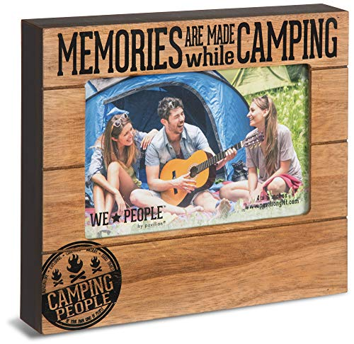 - Pavilion Gift Company 67069 Memories are Made While Camping Photo Frame, 7-1/2 x 6-3/4