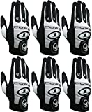 ProKennex Pure 1 Black Right Medium Racquetball (Paddle and Racquet Sports) Glove - Six Pack