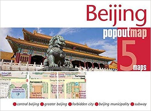 Lonely Planet Beijing Subway Map.Beijing Popout Map Popout Maps Popout Maps 0711600301366 Amazon