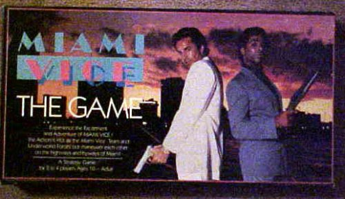 Miami Vice - The Game by Colorforms