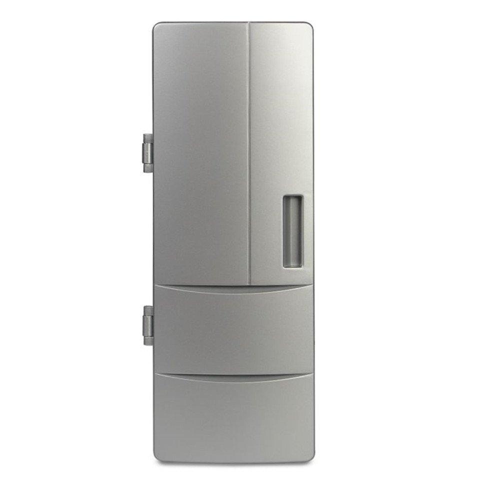 PYRUS, Portatile, Mini USB, Frigorifero da Tavolo Con Doppia Funzioni per Riscaldare e Raffreddare