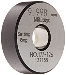 Mitutoyo 177-126 Setting Ring, 10mm Size...