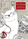 Cat Therapy: A mindful colouring book for adults
