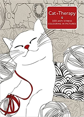 Cat Therapy A Mindful Colouring Book For Adults Amazoncouk Charlotte Segond Rabilloud 9781473619579 Books