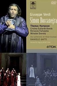 Verdi - Simon Boccanegra / Gatti, Hampson, Gallardo-Domas, Furlanetto, Dvorsky, Wiener Staatsoper [Import]