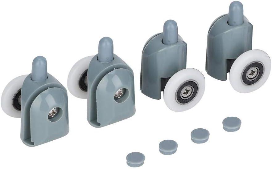 Shower Door Rollers Runners Wheels Pulleys Replacement for Wardrobe 23 mm