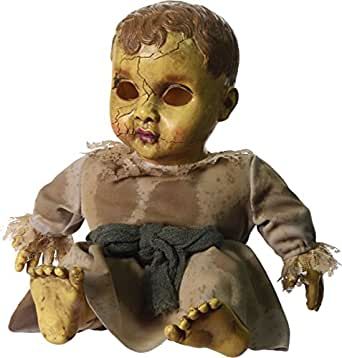 AMAZOO--Halloween Haunted Doll with Sound Scary Spooky Baby Props Decoration Party Toy-You Finally Find Perfect Product For Halloween