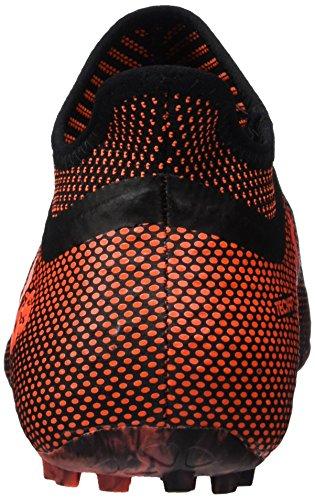 adidas X Tango 17+ Purespeed TF, Scarpe per Allenamento Calcio Uomo Multicolore (Core Black/Solar Red/Solar Orange)