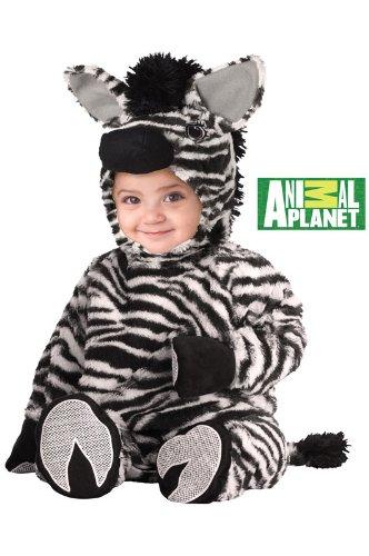 Animal Planet Zebra Baby Costumes (California Costumes Zebra Jumpsuit, White/Black, 18-24 months Costume)