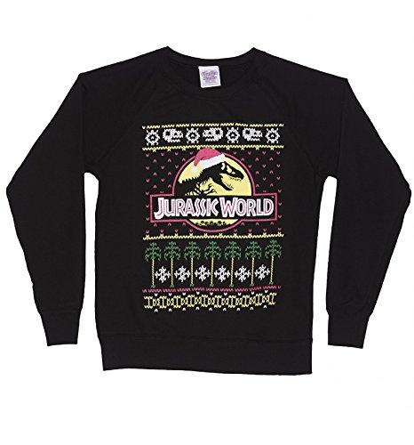 Mens Jurassic World Fair Isle Christmas Jumper: Amazon.co.uk: Clothing
