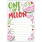 One In A Melon Birthday Party Invitations (20 Count) with Envelopes