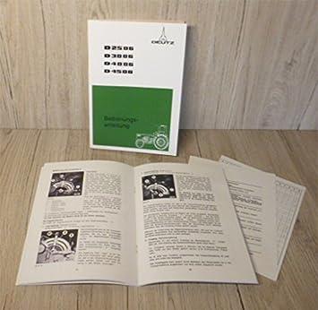 Deutz Werkstatthandbuch Hydraulik Kraftheber für Traktor D4006