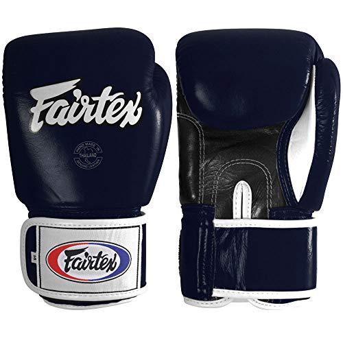 Fairtex Muay Thai Style Sparring Gloves, Blue, 14-Ounce