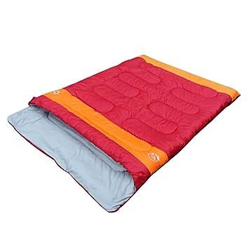 LOLIVEVE Saco De Dormir Tamaño Doble Al Aire Libre 10 Grados C Doble Bolsa Ancha Mantenga Caliente Mantener: Amazon.es: Deportes y aire libre
