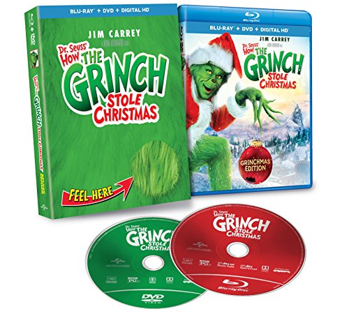 amazoncom dr seuss how the grinch stole christmas blu ray jim carrey jeffrey tambor christine baranski bill irwin molly shannon clint howard - How The Grinch Stole Christmas Stream