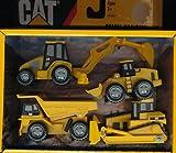 mini machines caterpillar - Toystate Caterpillar Construction Mini Machine 4-Pack