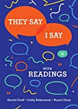 They Say / I Say: The Moves That Matter in Academic Writing with Readings (Fourth Edition): more info