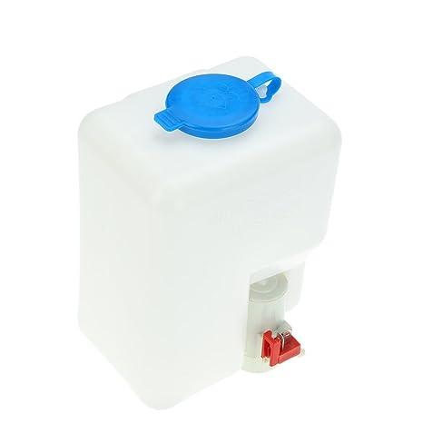 KKmoon Botella Limpiaparabrisas Kit Herramientas de Limpieza 12V Universal para Coches Clasicos Barco Marina