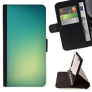 For Motorola Moto E ( 1st Generation ) Case , Luz de color brillante Niebla Glass Sun- la tarjeta de Crédito Slots PU Funda de cuero Monedero caso cubierta de piel