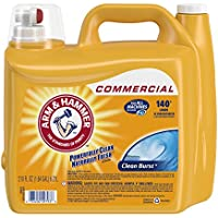 2-Pack Arm & Hammer 210oz Dual HE Clean-Burst Liquid Laundry Detergent
