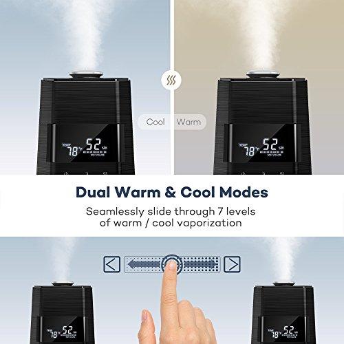 taotronics ultrasonic cool mist home humidifier manual