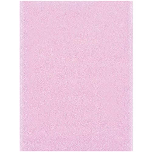 Boxes Fast BFFP912AS Anti-Static Flush Cut Foam Pouches, Load Capacity, 12'' Length, 9'' width,'' Thick,, Pink ( 50) by Boxes Fast
