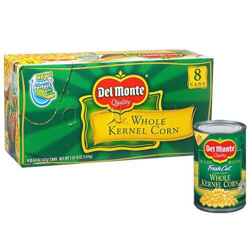 Del Monte Whole Kernel Corn - 15.25 oz.